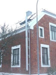 Utfellbar bøylestige til tak i Horten i Profil-1